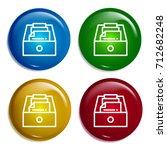 document multi color gradient...
