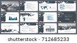elements of infographics for... | Shutterstock .eps vector #712685233