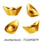 Yuan Bao   Chinese Gold Sycee...