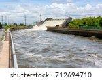 waterway to prevent flooding | Shutterstock . vector #712694710