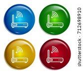router multi color gradient...