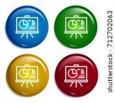 report multi color gradient...
