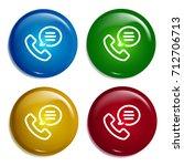 telephone multi color gradient...