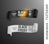 illustration of black friday... | Shutterstock .eps vector #712724164