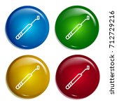 periodontal scaler multi color...