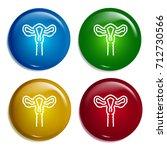 uterus multi color gradient...