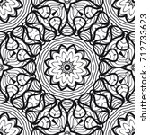 seamless lace pattern with... | Shutterstock .eps vector #712733623
