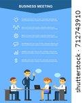 infographic business  vector | Shutterstock .eps vector #712743910