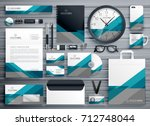 professional business... | Shutterstock .eps vector #712748044