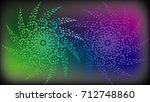 abstract background with... | Shutterstock . vector #712748860