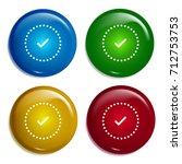checked multi color gradient...