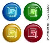 blogging multi color gradient...