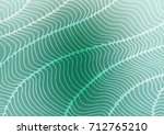 light blue  green vector... | Shutterstock .eps vector #712765210