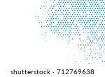 light blue vector banner with... | Shutterstock .eps vector #712769638