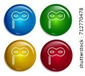 eye mask multi color gradient...
