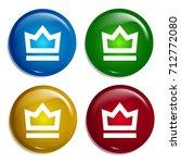 crown multi color gradient...