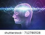 consciousness  metaphysics or... | Shutterstock . vector #712780528