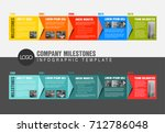 vector colorful infographic... | Shutterstock .eps vector #712786048
