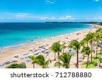 puerto rico beach travel... | Shutterstock . vector #712788880