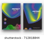 abstract covers background for... | Shutterstock .eps vector #712818844