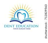 sunrise dent logo   Shutterstock .eps vector #712829563