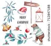 Christmas Illustration Set....
