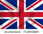 united kingdom flag background... | Shutterstock .eps vector #712850884