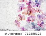 Abstract White Grunge Wall...