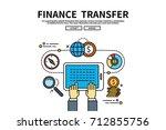 flat line vector editable... | Shutterstock .eps vector #712855756