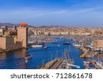 Fort And Vieux Port   Marseill...