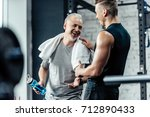Senior Sportsman Shaking Hands...