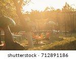 playground for children that is ... | Shutterstock . vector #712891186