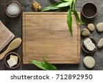spa background with a space for ... | Shutterstock . vector #712892950