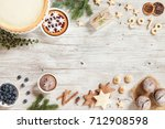 new year preparation concept.... | Shutterstock . vector #712908598