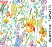 seamless pattern for print on... | Shutterstock . vector #712926370