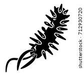 e coli bacteria icon . simple...   Shutterstock .eps vector #712930720