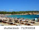 ibiza  spain   september 1 ... | Shutterstock . vector #712933018