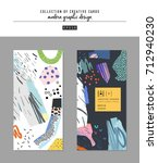 collection of creative... | Shutterstock .eps vector #712940230
