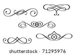 design elements and monograms...