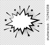 vector comic explosion. comic