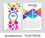 abstract vector layout...   Shutterstock .eps vector #712973929