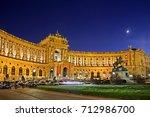 vienna  austria   november 16 ... | Shutterstock . vector #712986700