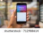 chiang mai  thailand   sep 07 ... | Shutterstock . vector #712988614