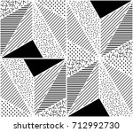 vector seamless pattern.... | Shutterstock .eps vector #712992730