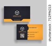 horizontal golden and black... | Shutterstock .eps vector #712996213