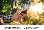 macro shot of a sommelier that... | Shutterstock . vector #712996894