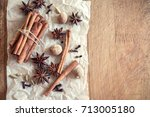 natural aroma spices for...   Shutterstock . vector #713005180