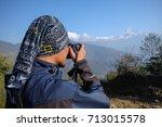 Dhampus  Nepal   22nd February...