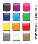 button for website vector | Shutterstock .eps vector #713034073