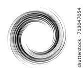 circular geometric motif.... | Shutterstock .eps vector #713047054